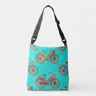 Hellblaue Fahrrad-Kreuz-Körper-Taschen-Tasche Tragetaschen Mit Langen Trägern