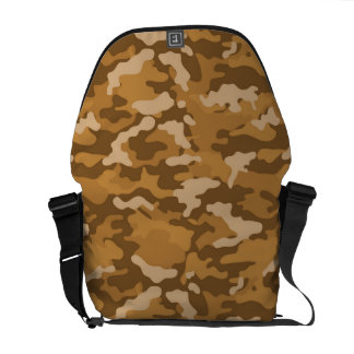 Hellbraune Armee-MilitärCamouflage-Tarnungs-Muster Kurier Tasche