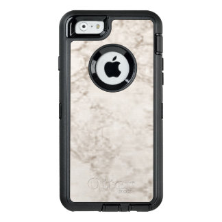 Hellbrauner Marmorblick OtterBox iPhone 6/6s Hülle