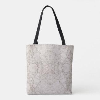 Hellbrauner Marmorblick Tasche