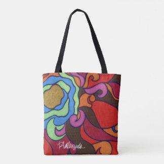 Helle abstrakte BlumenTasche Tasche