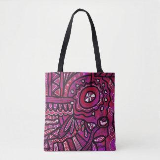Helle abstrakte Tasche