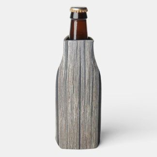 Helle Farbhölzerne Muster-Flasche cooler