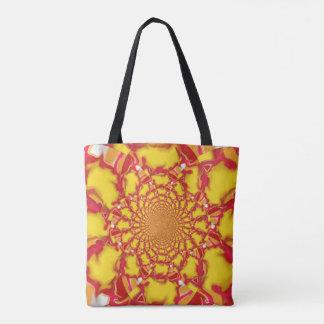 Helle Fleck- Zeitlimit-Kaleidoskop-Taschen-Tasche Tasche