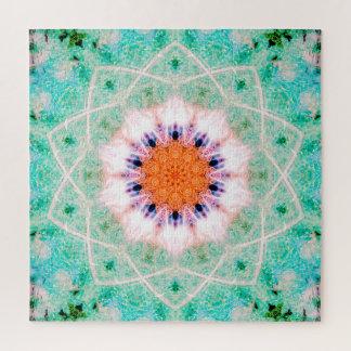 Helle friedliche Kunst des Mandala-|