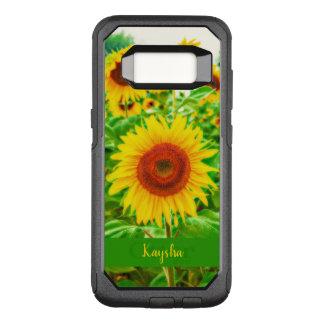 Helle gelbe riesige glückliche Sonnenblumen OtterBox Commuter Samsung Galaxy S8 Hülle