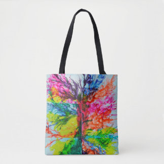 Helle Inky Farben Tasche