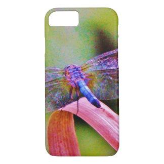 Helle Regenbogen-Rosa-Libelle iPhone 8/7 Hülle