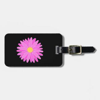 Helle rosa Blume Koffer Anhänger
