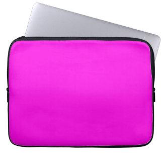 Helle rosa Farbe Laptopschutzhülle