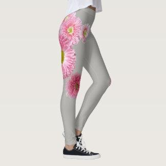 Helle rosa Frühlings-Blume Leggings