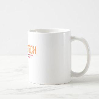 Helle Technologie-Beschreibung Kaffeetasse