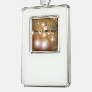 Helle Verzierung Rahmen-Ornament Silber