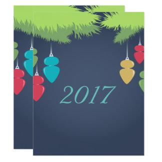 Helle Weihnachtskarte Karte