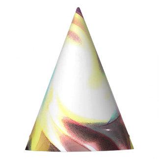 Helle Whirl-Partyhüte Partyhütchen