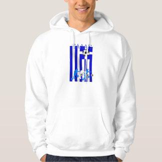 Hellenischer Art Griechenland-Fußball Griechenland Hoodie