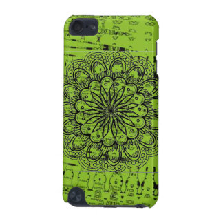 Heller abstrakter grüner Kasten iPod Touch 5G Hülle
