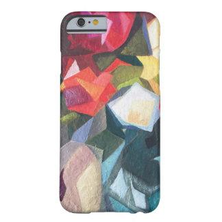 Heller abstrakter Telefon-Mit Blumenkasten Barely There iPhone 6 Hülle