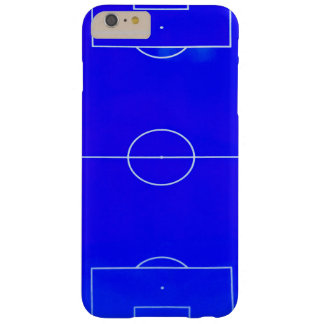 Heller blauer Fußballplatz iPhone 6S Kasten Barely There iPhone 6 Plus Hülle