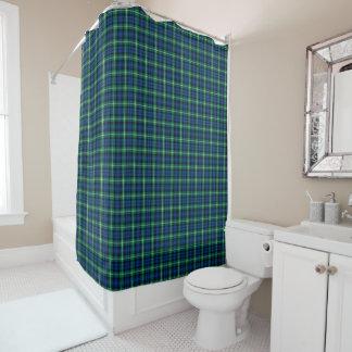 Heller blauer und grüner Lamont ClanScottishTartan Duschvorhang