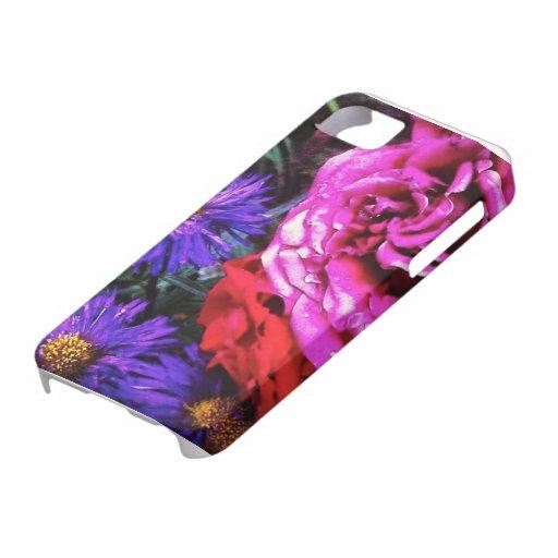 Heller Blumen iPhone Fall iPhone 5 Hüllen