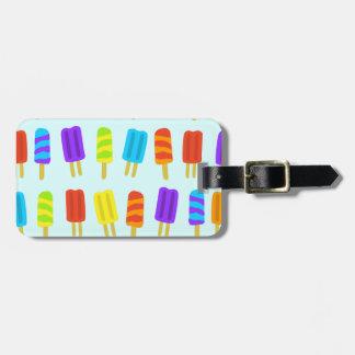 Heller Eis-Lutschbonbon-Gepäckanhänger Gepäckanhänger