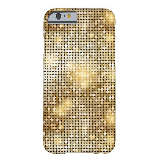 Heller funkelnder goldener barely there iPhone 6 hülle