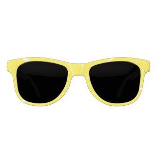 Heller gelber brille