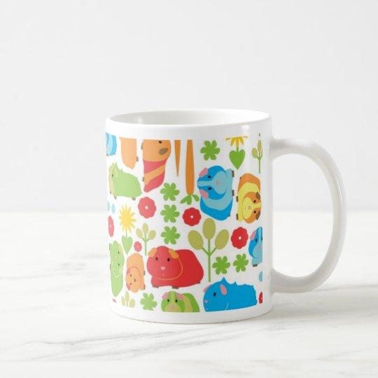 Heller Meerschweinchen-Flecken Kaffeetasse