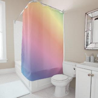 Heller Regenbogen-Krawatten-Duschvorhang Duschvorhang