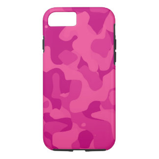 Heller rosa Girly Camoflauge iPhone 7 Fall iPhone 8/7 Hülle