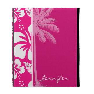 Heller rosa tropischer Hibiskus