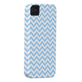 Heller Sommer-blauer Zickzack Muster iPhone 4 iPhone 4 Cover