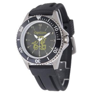 Heller Steinbock Uhr