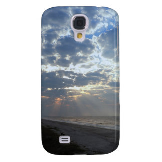 Heller Strand-Morgen - Eichen-Insel, NC Galaxy S4 Hülle
