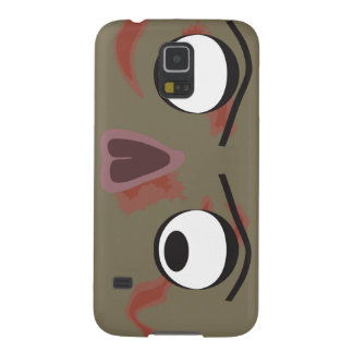 Heller Zombie-Gesichts-Kasten Samsung Galaxy S5 Cover