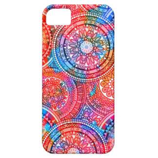 Helles böhmisches Boho Hippie-Chic-Muster iPhone 5 Schutzhülle