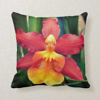 Helles Orchideen-Kissen Kissen