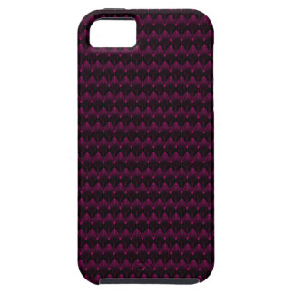 Helles rosa alien-Kopf-Neonmuster iPhone 5 Case