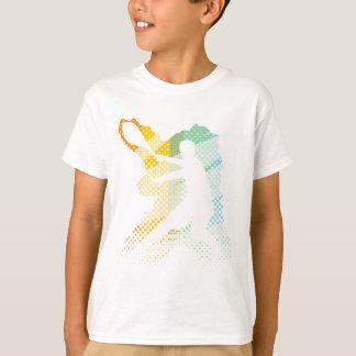 Helles Tennis-T-Shirt für Männer, Frauen und T-Shirt