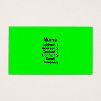 Hellgrün Visitenkarte
