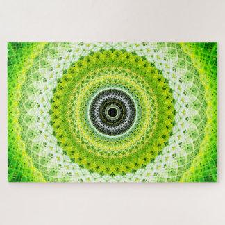 Hellgrüne Mandala