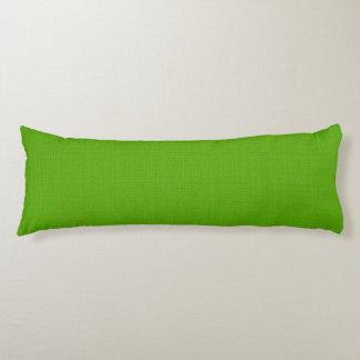 Hellgrüne strukturierte Designer-Körper-Kissen Seitenschläferkissen