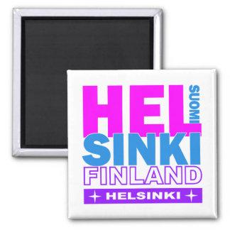 Helsinki-Magnet Quadratischer Magnet