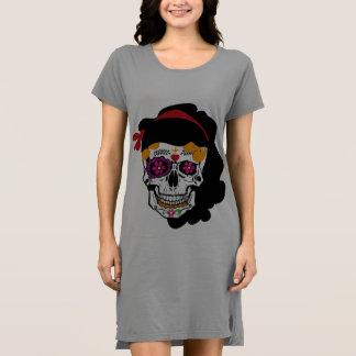 hemd Vestido- mexikanischer Totenkopf Kleid