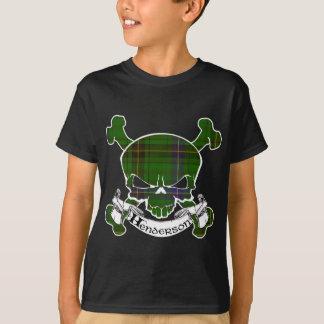 Hendersontartan-Schädel T-Shirt