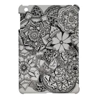 Henné floral de groupe étui iPad mini
