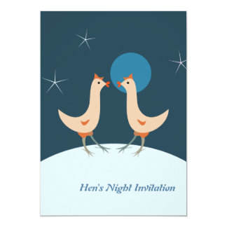 Henne-NachtParty Einladung