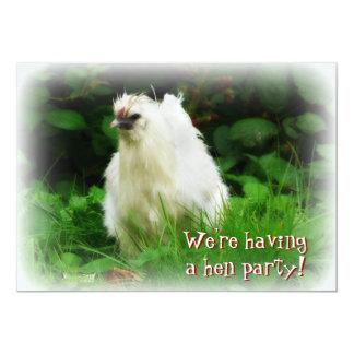 Henne-Party! Laden Sie für bachelorette Feier ein 12,7 X 17,8 Cm Einladungskarte