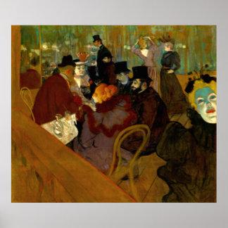 Henri de Touolouse-Lautrec - Moulin Rouge Posterdruck
